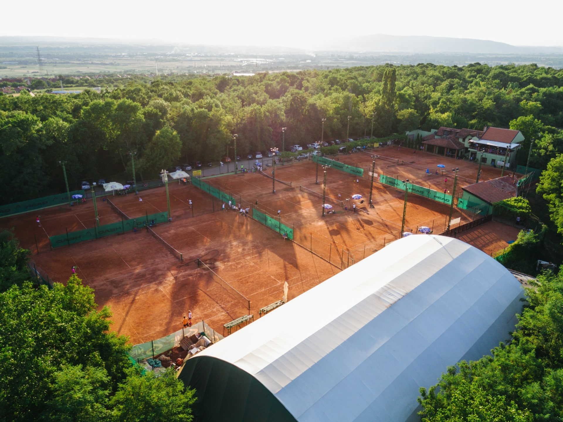 Tennis camp TAZ Serbia